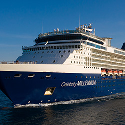 Celebrity Millennium, Asia, Alaska, Europe, South Pacific, South America